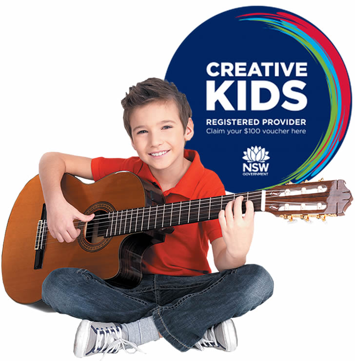 home guitar tutoring Kellyville