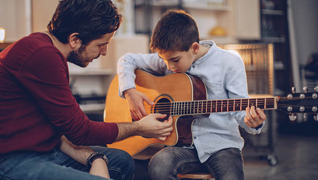 Guitar Lessons Mountain River